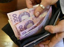 українські гривні в гаманці