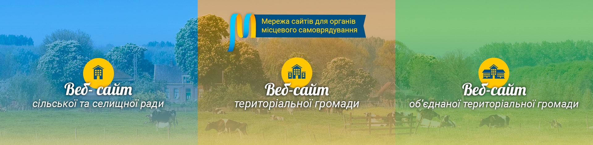 сайти органів місцевого самоврядування